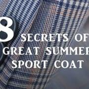 8 Secrets to the Perfect Summer Coat