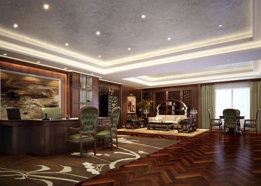 Male Office Decor Ideas from www.gentlemansgazette.com