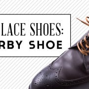Ways To Lace Shoes - The Derby Shoe