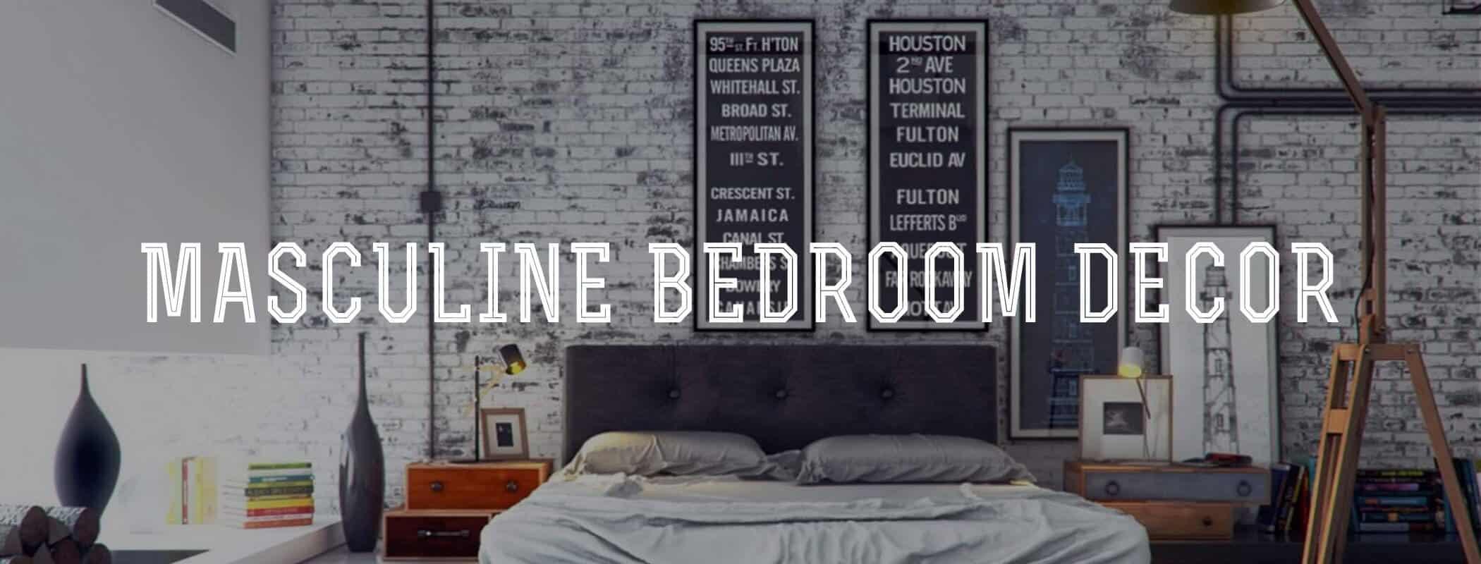 Image of: Masculine Bedroom Decor Gentleman S Gazette