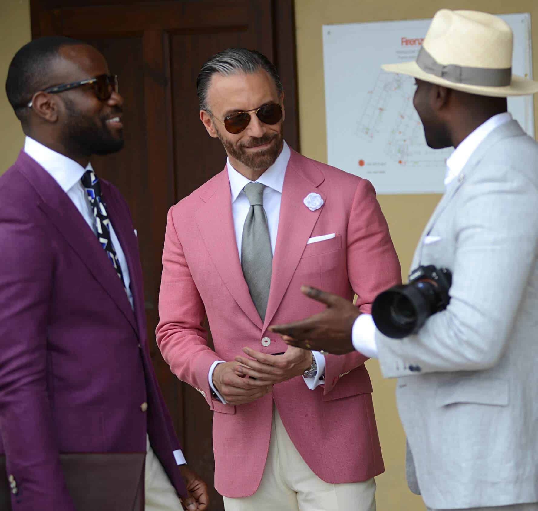Is Pink In Fashion  Men