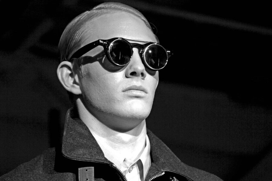 Even haute sunglasses when worn correctly can look spectacular