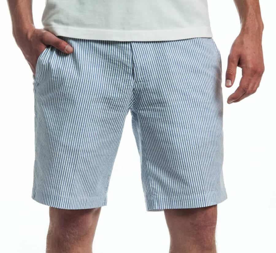 Fantastic seersucker whaler shorts