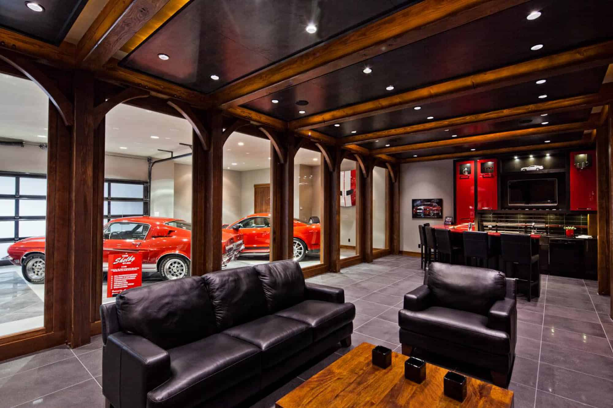 Classic Man Cave Walkthrough : The man cave decor guide — gentleman s gazette