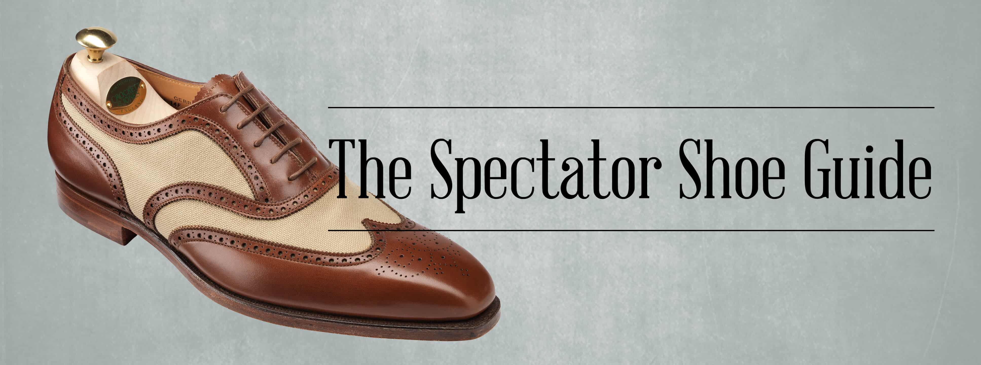 006c852eeb3b7 Spectator & Two Tone Shoes Guide — Gentleman's Gazette
