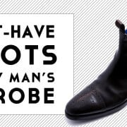 2 Must Have Boots for Every Man's Wardrobe