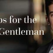 Top Jobs for the Elegant Gentleman