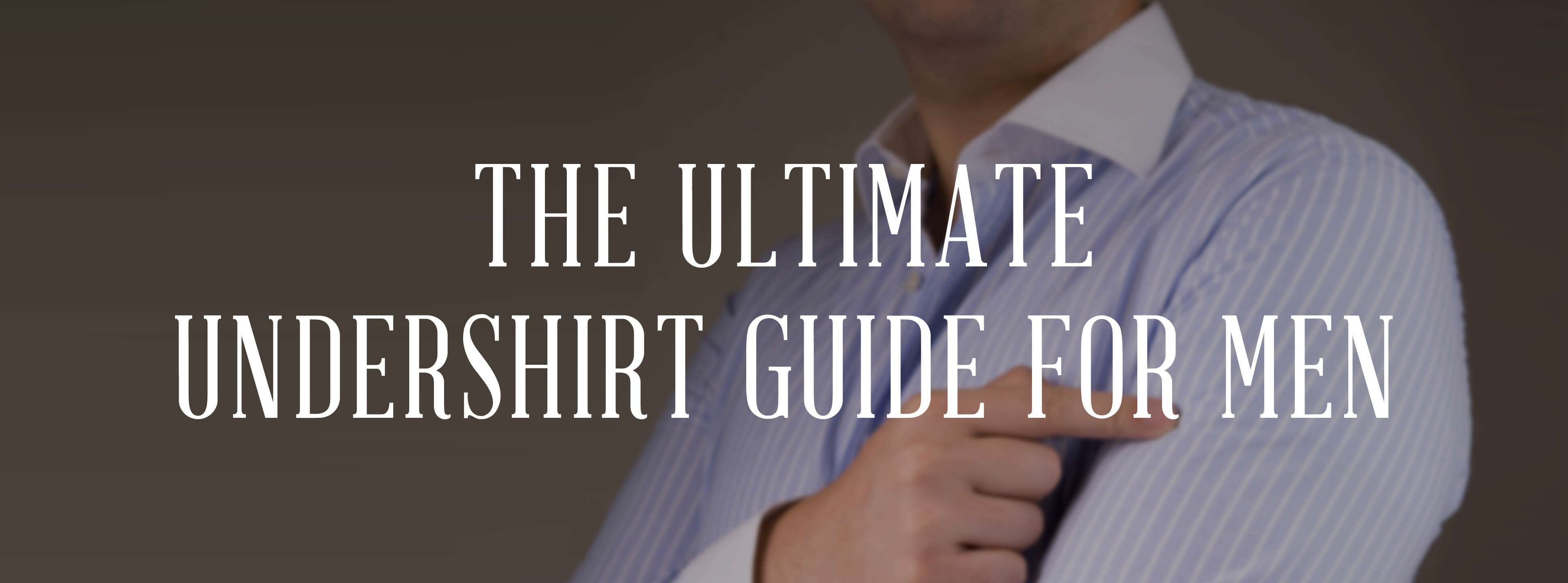 2df0d486b67c Undershirts For Men - To Wear or Not to Wear an Undershirt ...