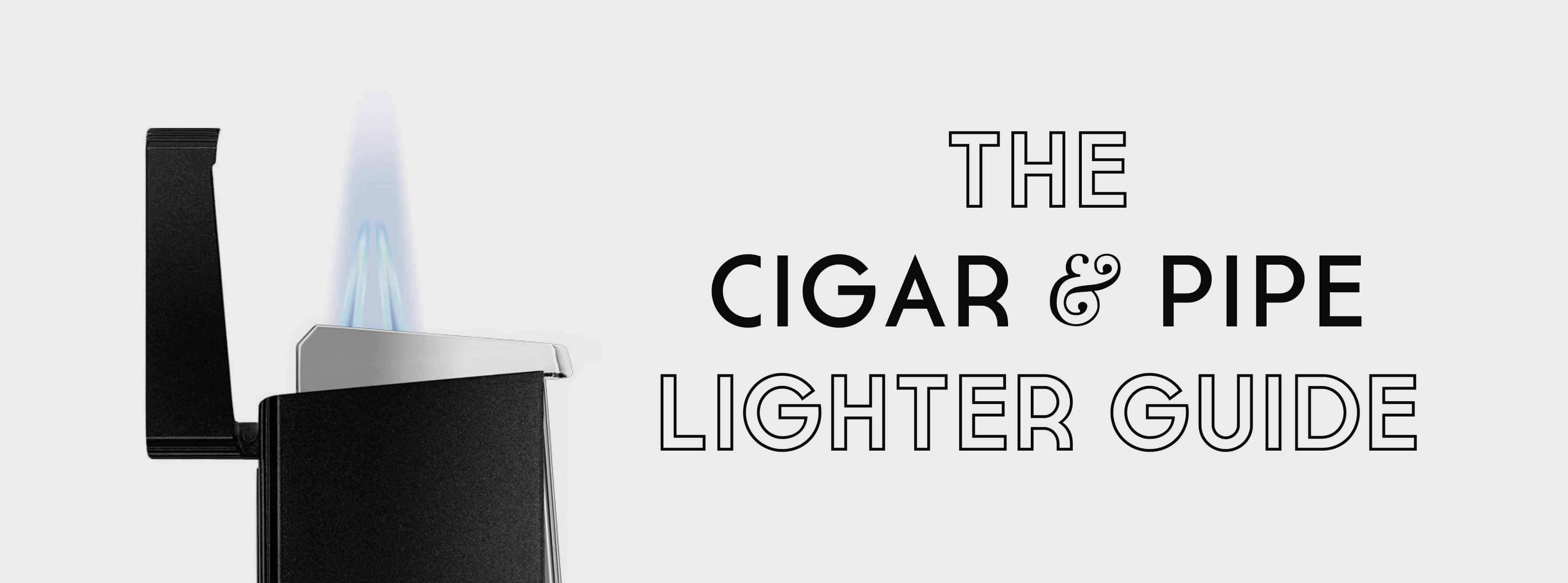 The Cigar and Pipe Lighter Guide — Gentleman's Gazette