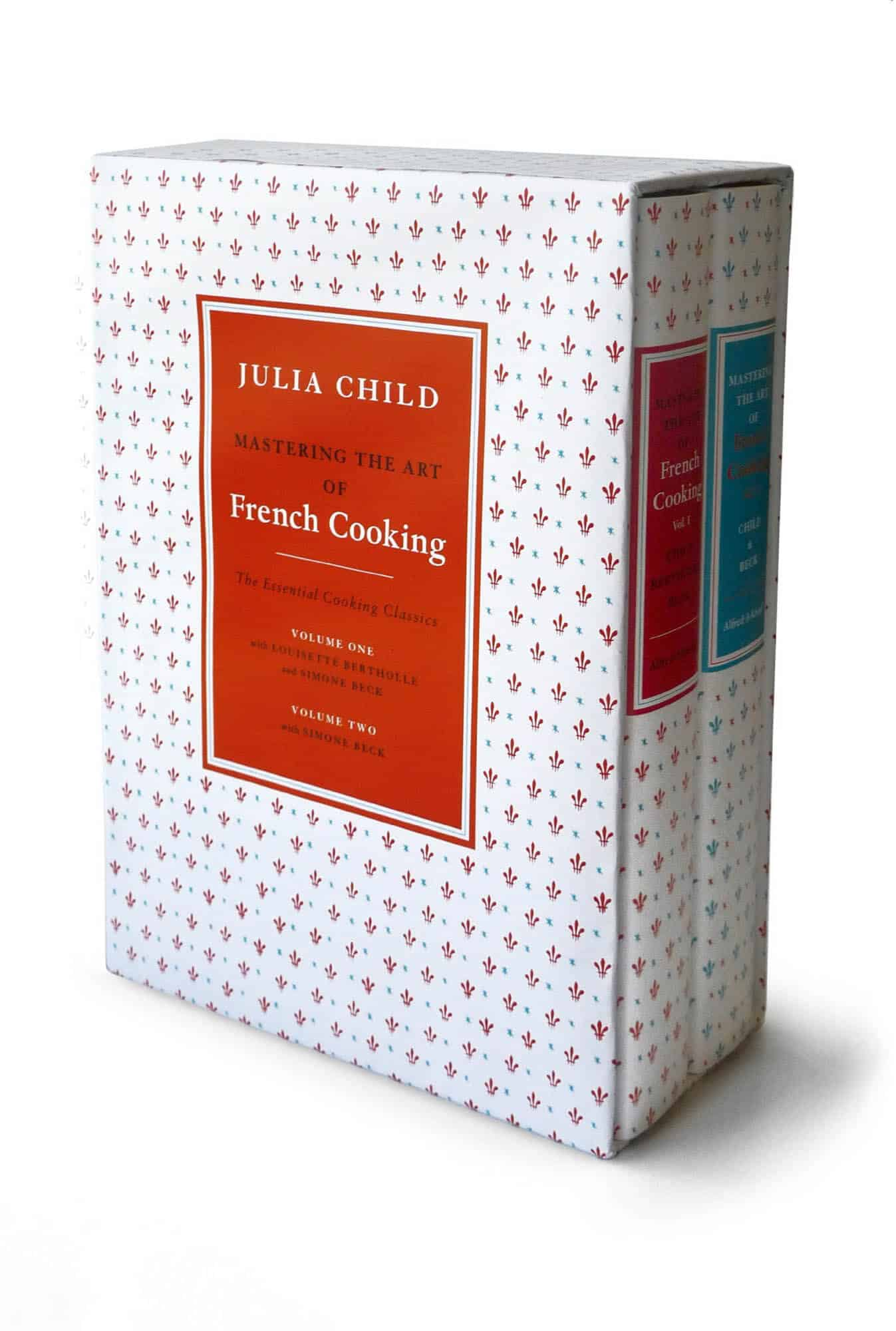 The two volume set by Julia Child