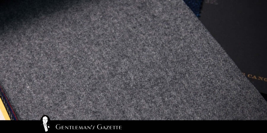 Gianni Agnellis Gray Flannel Made By Vitale Barberis Canonico Is Still Available Today