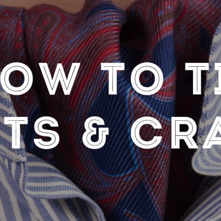 ddde06fd4e2 How To Tie An Ascot   Cravat