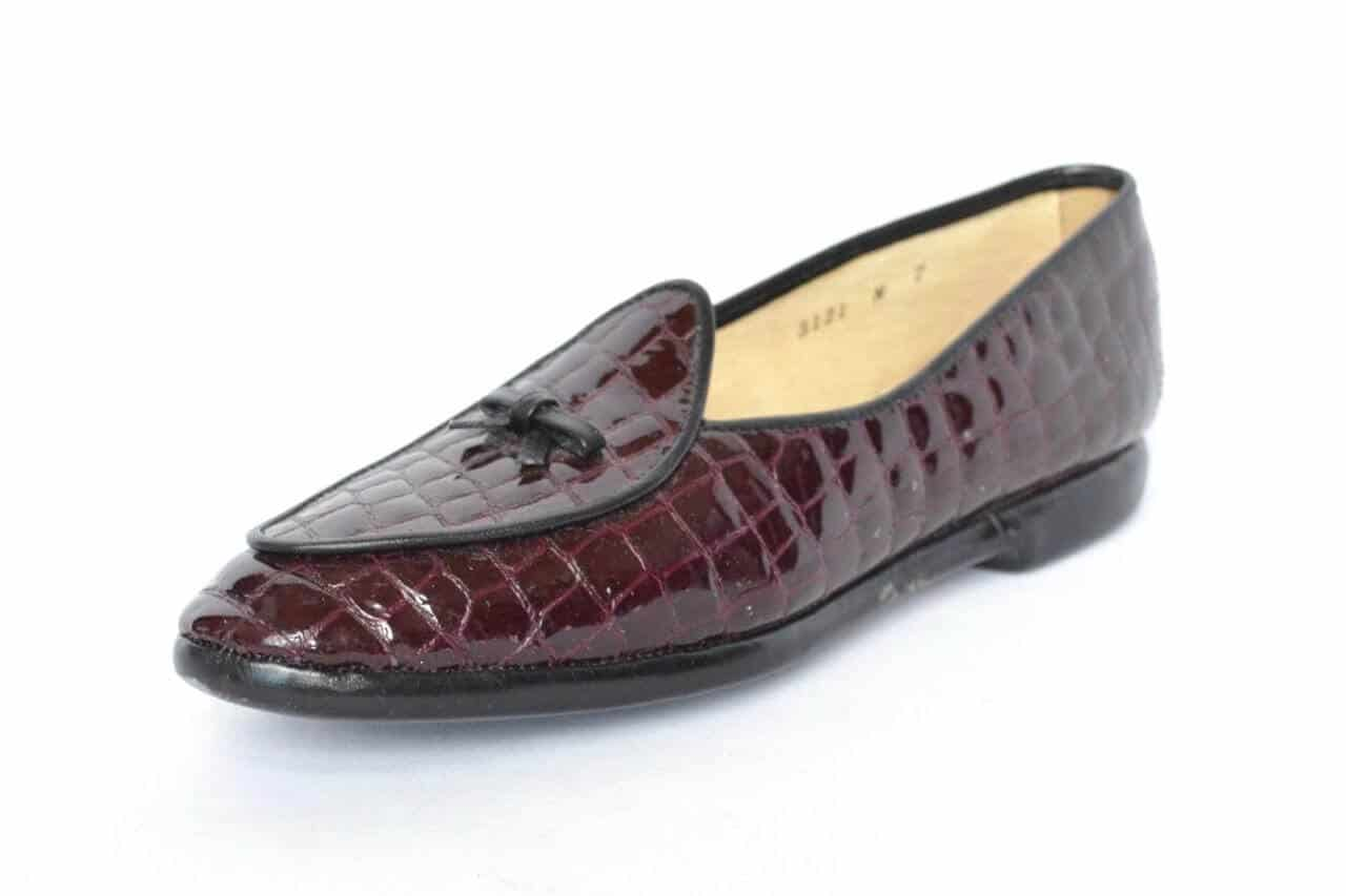 Womens Black Tassel Shoes