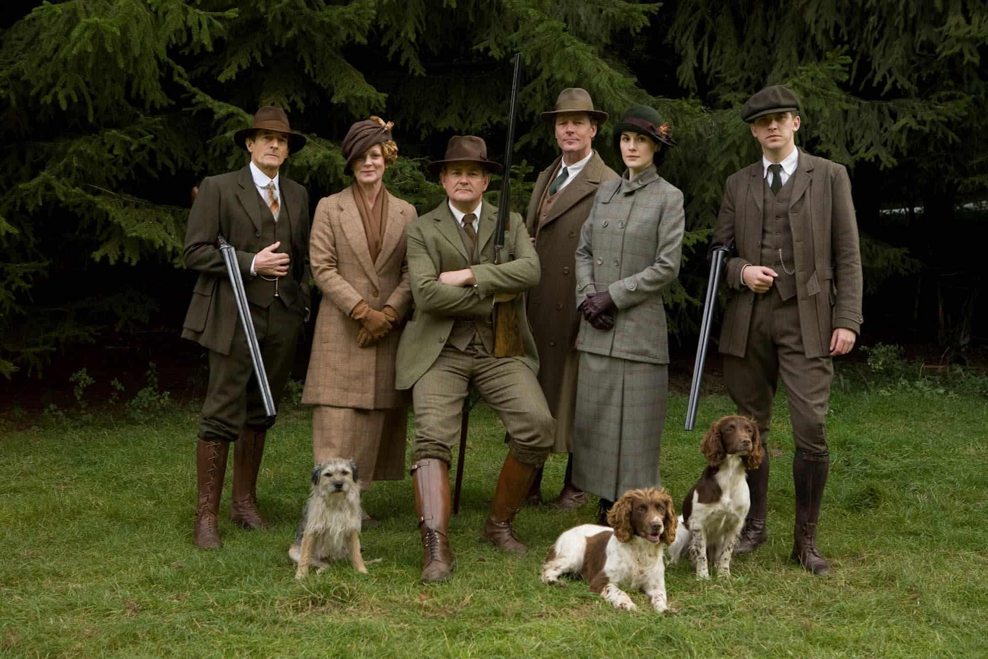 Downton Abbey has brought shooting back into popularity