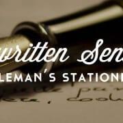 handwritten sentiments
