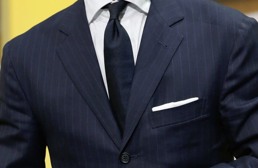 Avoid bold stripes but subtle stripes are ok