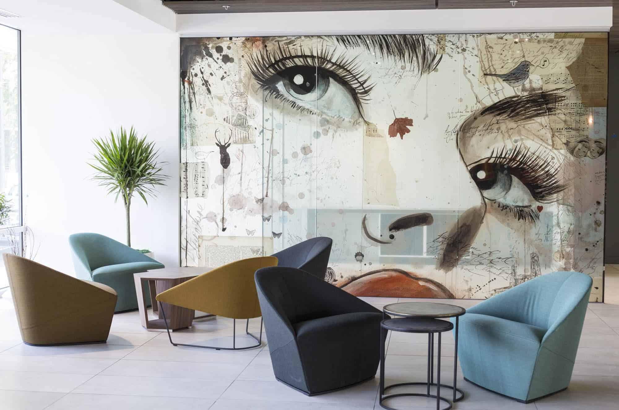 Art painting interior decor gentleman 39 s gazette for A for art design hotel