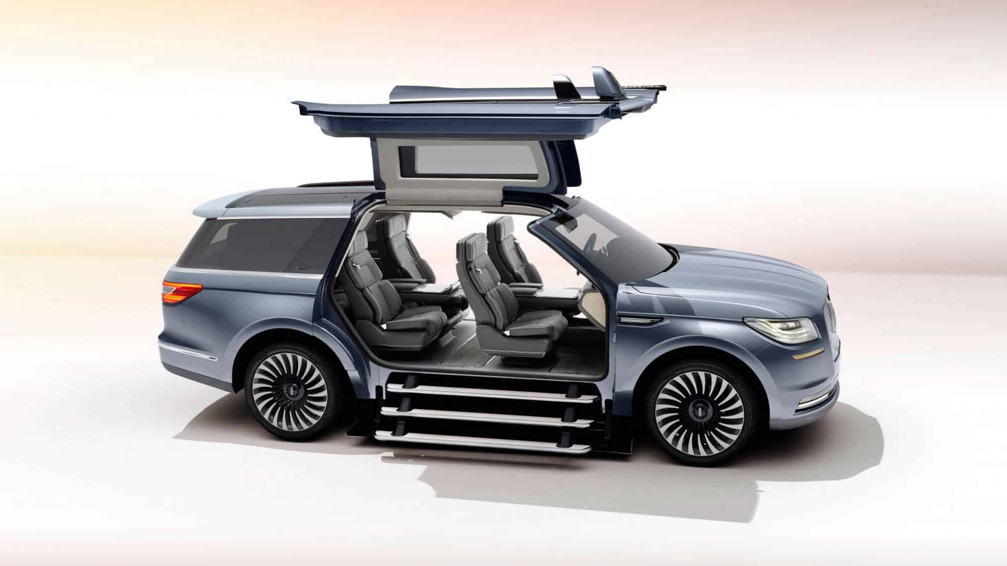 The 2016 lincoln navigator