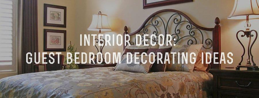 Interior Decor Guest Bedroom Decorating Ideas Gentleman's Gazette Fascinating Bedroom Room Decorating Ideas