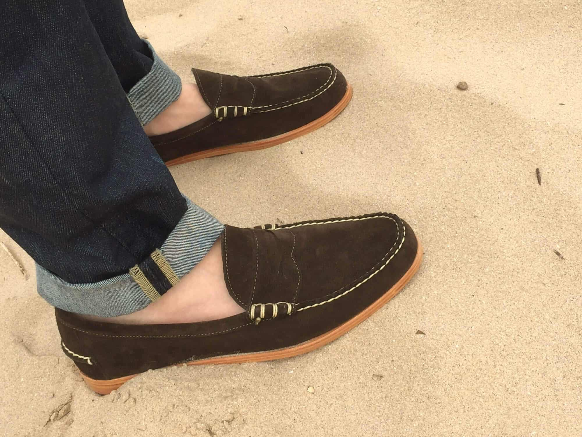 Mens Summer Shoes Guide Gentlemans Gazette D Island Casual Comfort Loafers Suede Black A Great Driving Moc From Allen Edmonds
