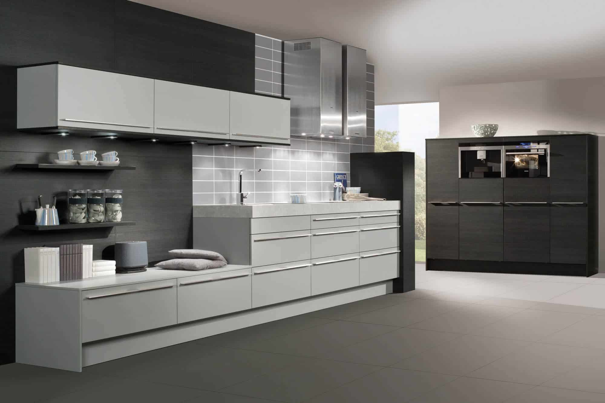 A Two Tiered Concealed Kitchen Works Great For Clean Lofts And Small Houses