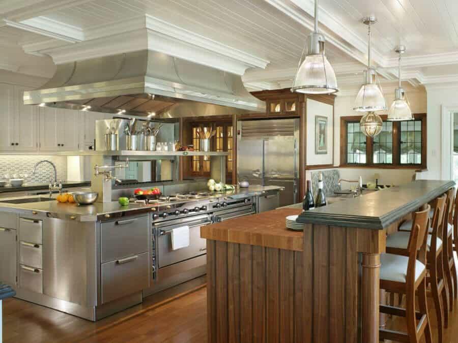 mempertimbangkan restoran pohon-kelas waktu yang akan memberikan koki dapur, yang isnt steril