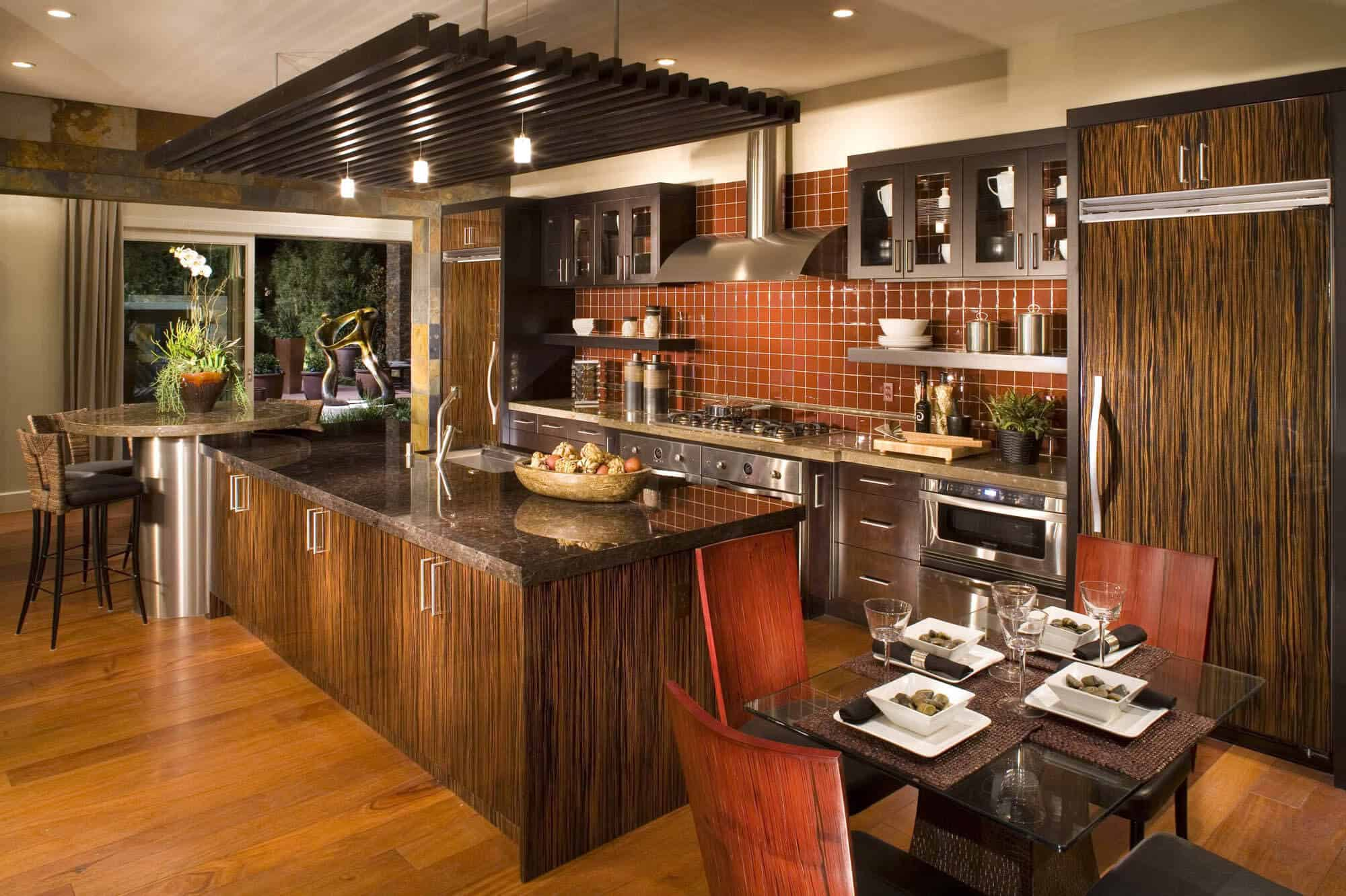 Charming Italian Style Kitchen As Amazing Modern Italian Kitchen