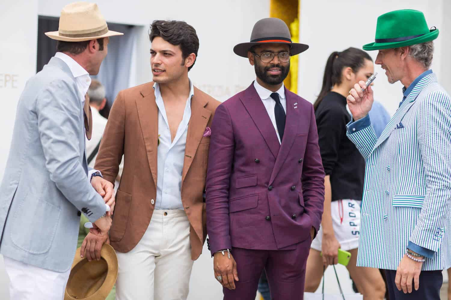 Men's Summer Outfits & Hot Weather Classic Style Suit Ideas ...