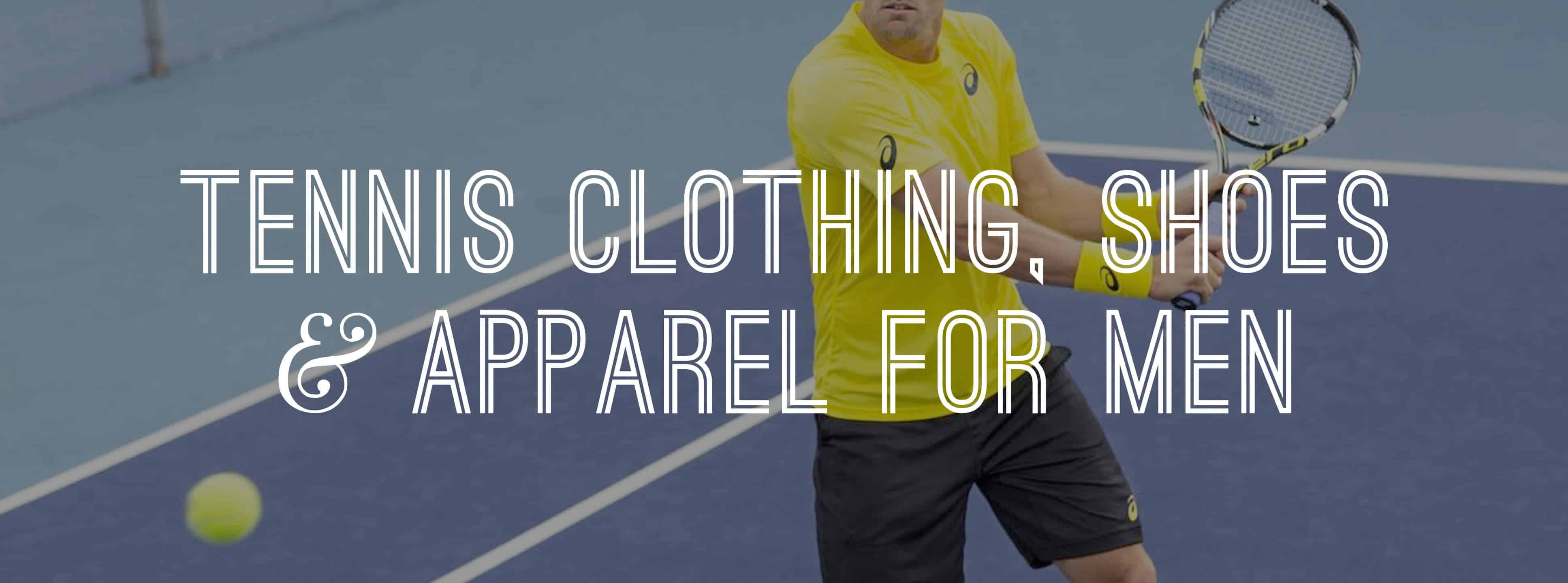 a5a6e42c The Tennis Shop: Men's Tennis Apparel — Gentleman's Gazette
