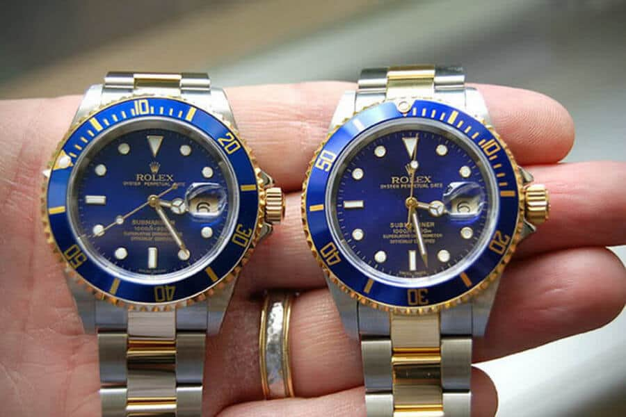 Can you spot the fake Rolex