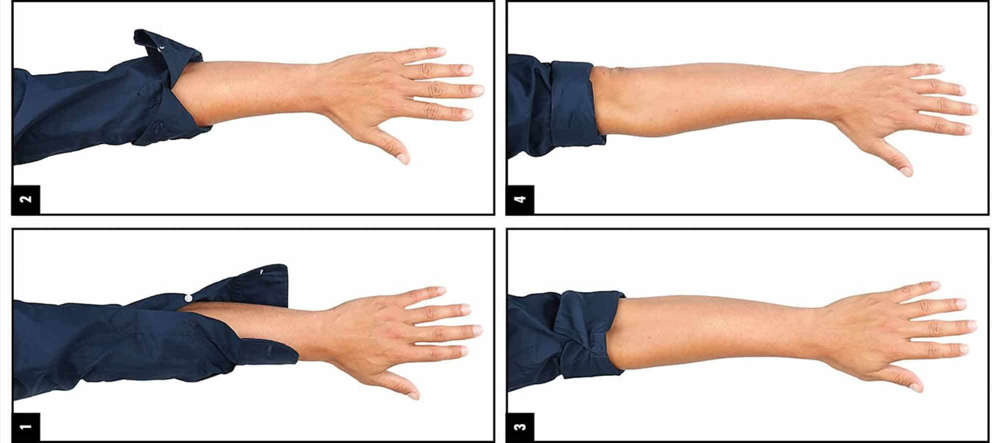 How to Roll Up Your Sleeves — Gentleman's Gazette