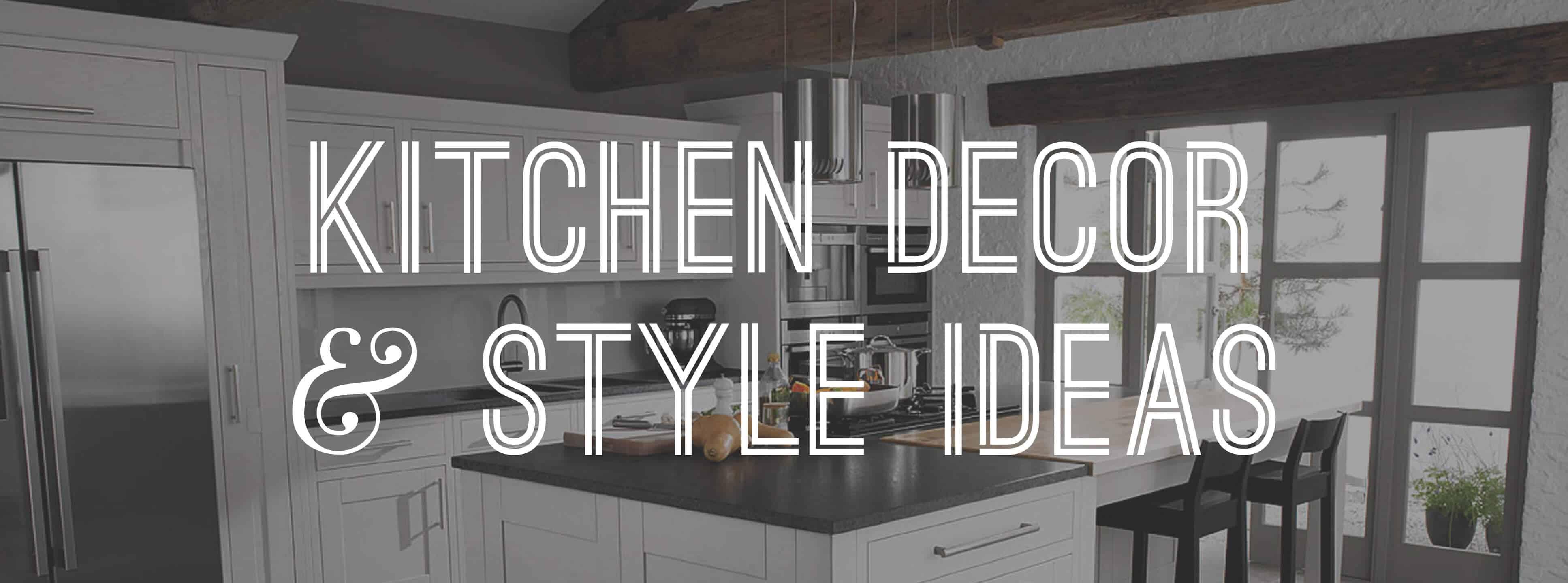 Kitchen Decor Style Ideas Gentleman S Gazette