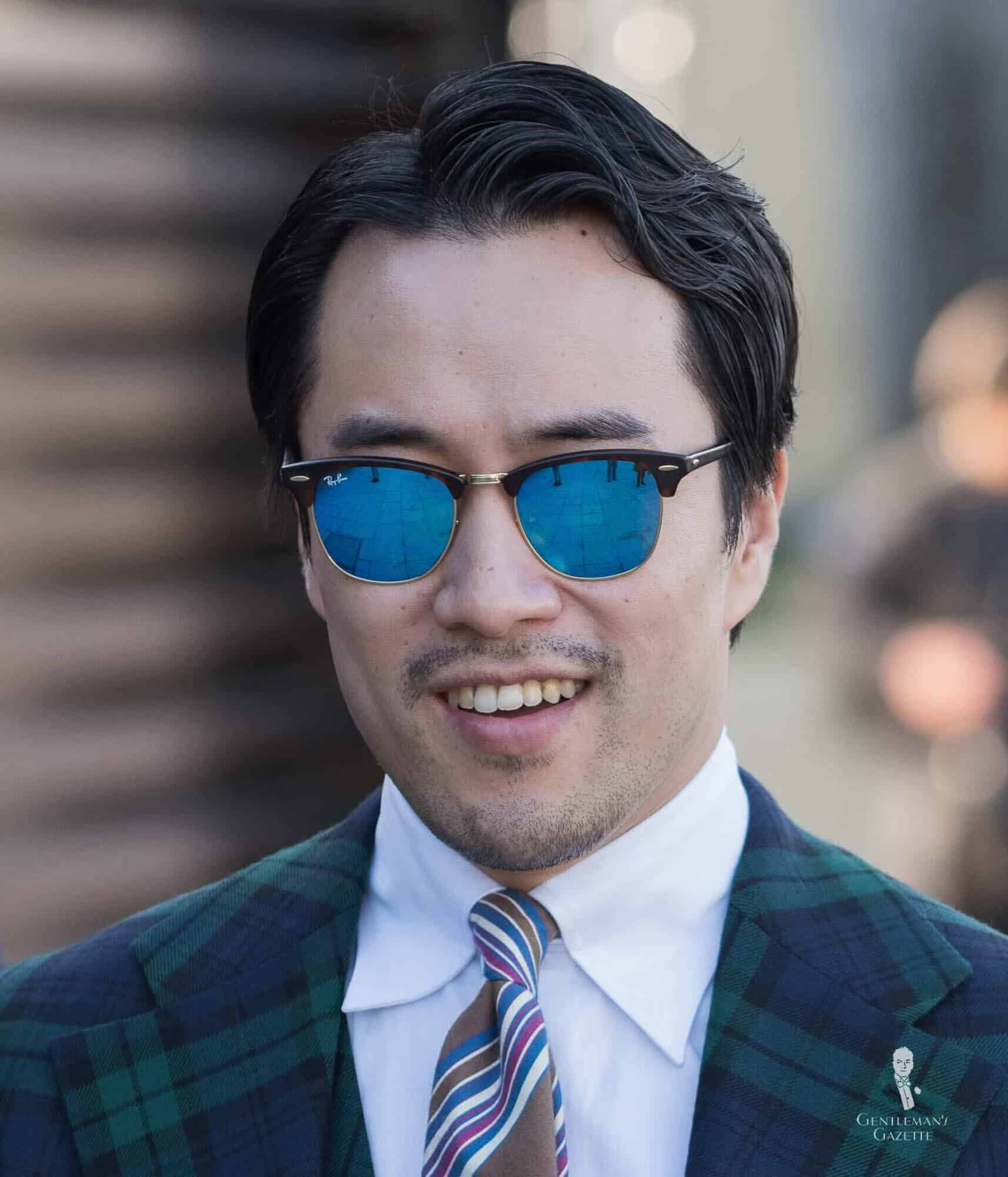 Clubmaster Sunglasses Amp Browline Style Primer Gentleman