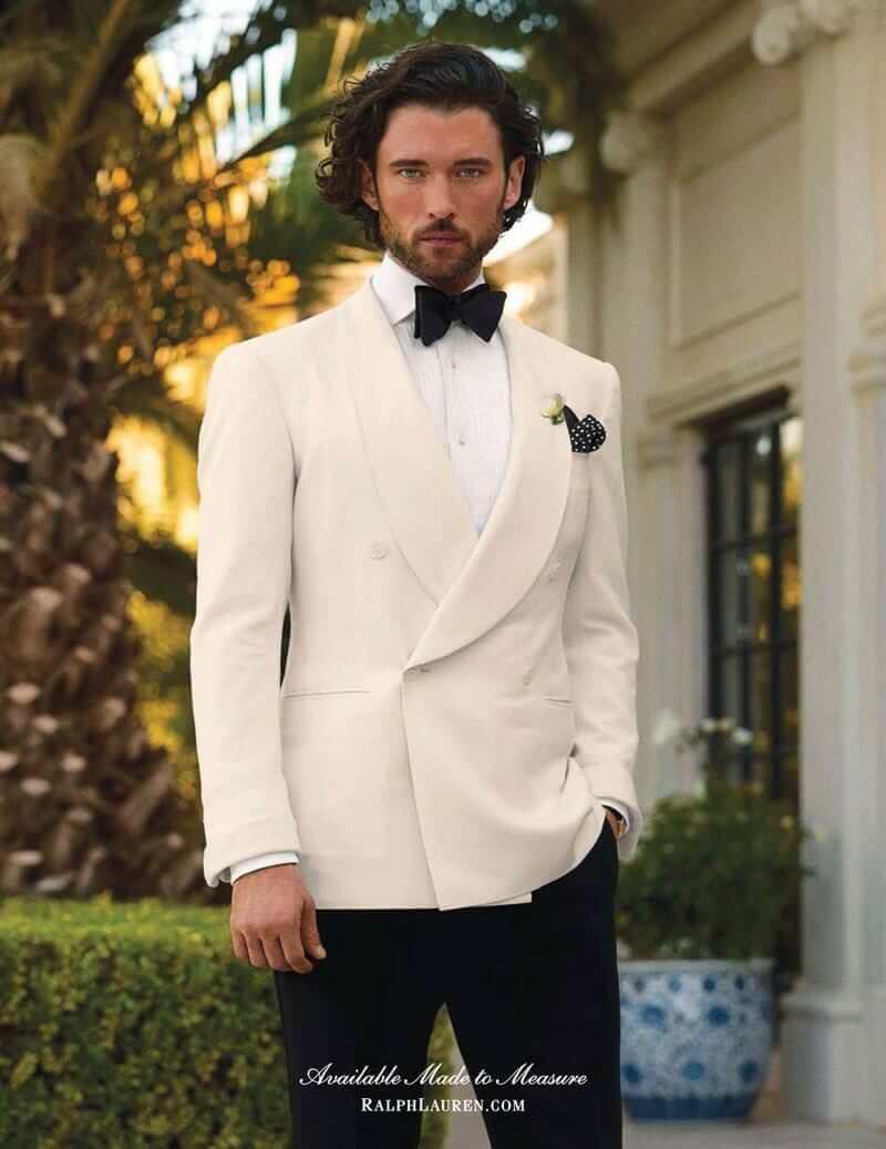 34 Short Mens White Formal Dinner Jacket