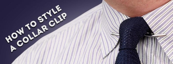 How To Style A Collar Clip Banner