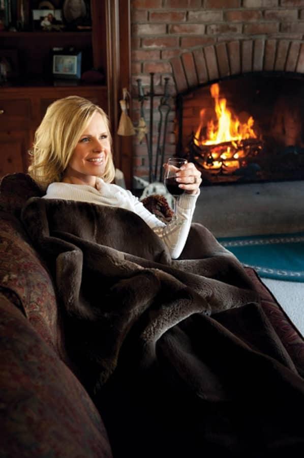 Adirondack Fur Blanket