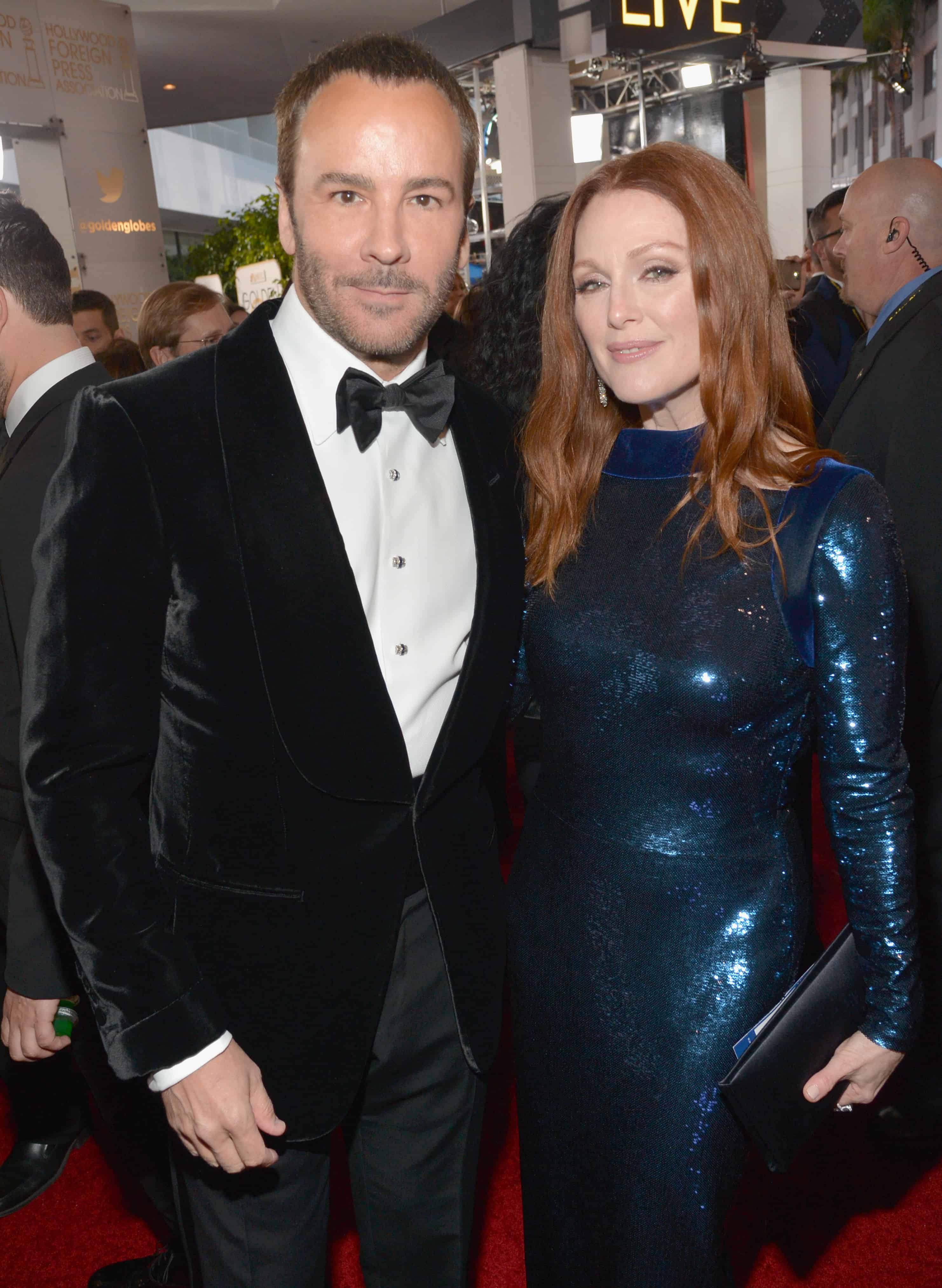 Fashion designer tom ford at the hollywood something or other awards - Blue Velvet Dinner Jackets Tom Ford