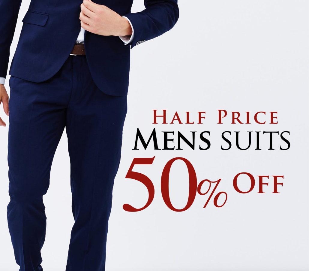 50% Suit sale
