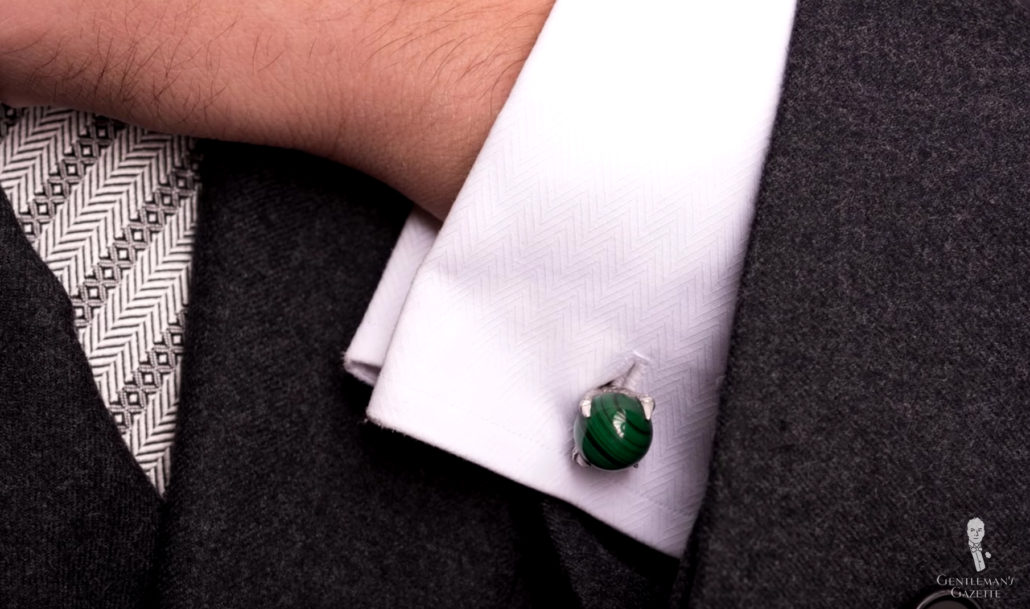 How To Combine Pair Cuff Links With Shirts Suits Ties