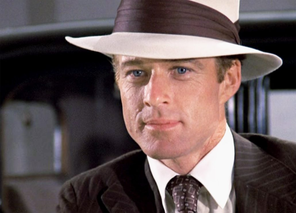 cfe583df Robert Redford wears a Panama hat in the Great Gatsby