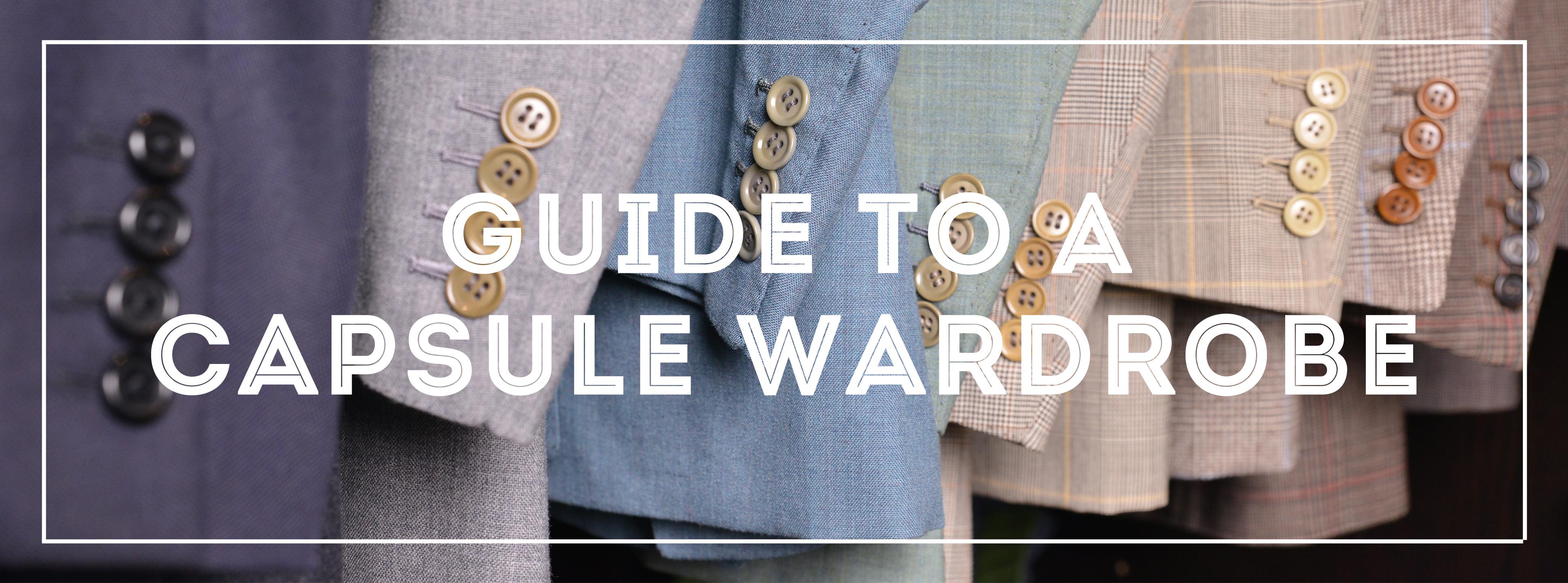 capsule wardrobe guide for men gentleman s gazette