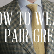 How To Wear & Pair Green