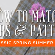 How to Match Colors and Patterns For Classic Spring Summer Outfits