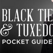 black tie pocket guide