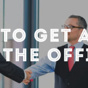 how to get ahead at the office