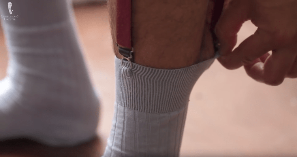 Sock Garters can be uncomfortable for some