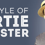 the style of bertie wooster