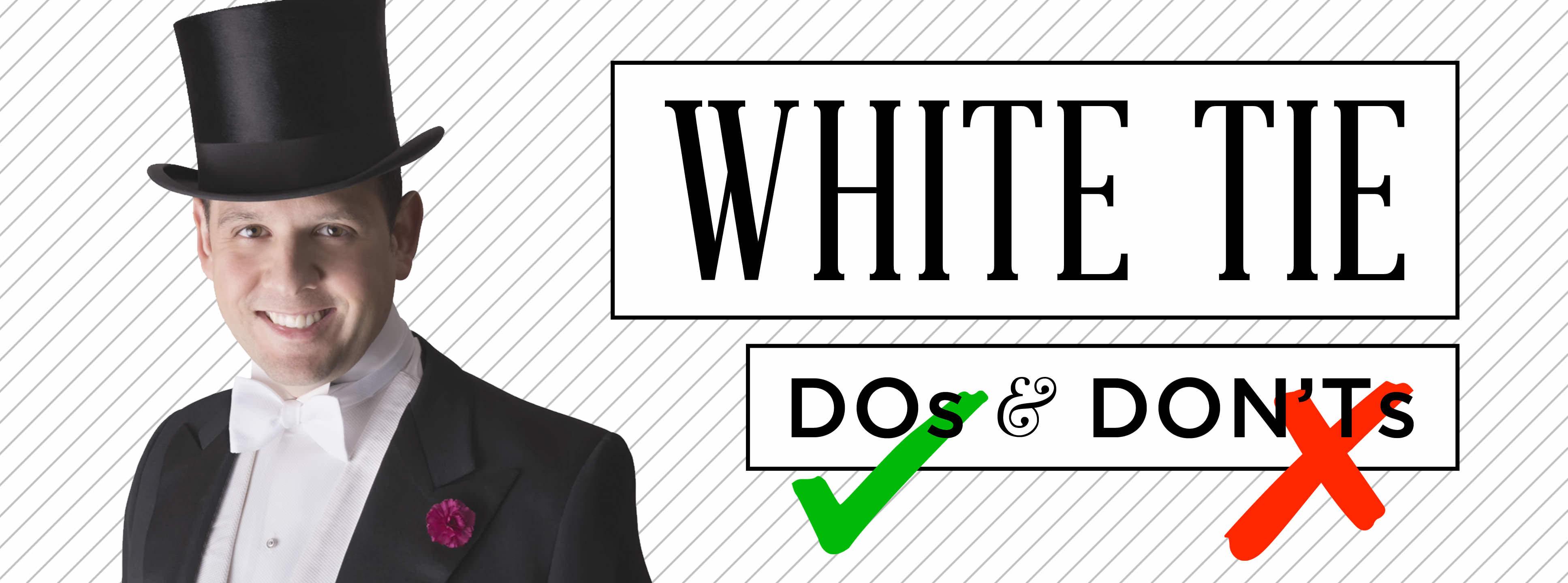 5a8f34b47 White Tie DO's & DON'Ts -Met Ball Gala — Gentleman's Gazette