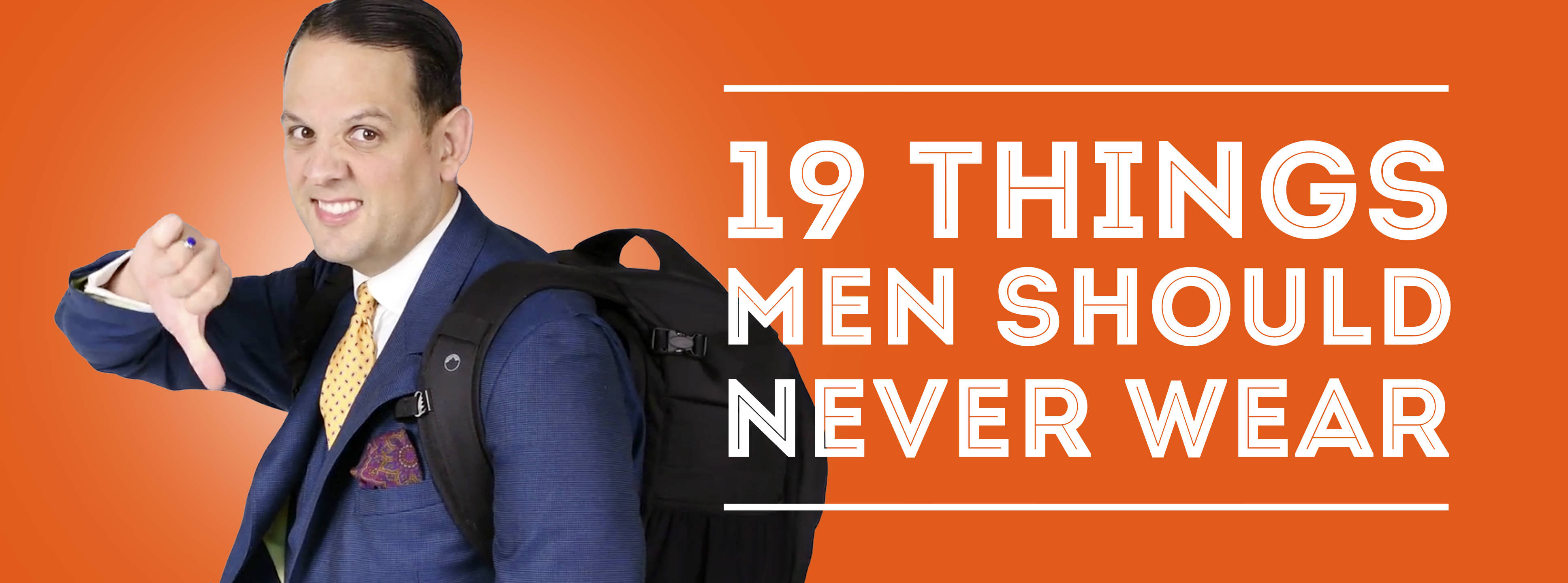 c9440e17 19 Things Men Should Never Wear — Gentleman's Gazette