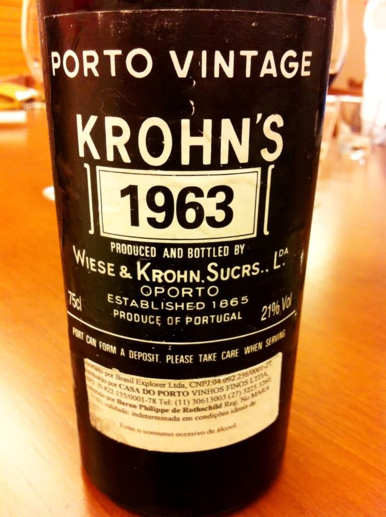 Vintage Port by Krohns